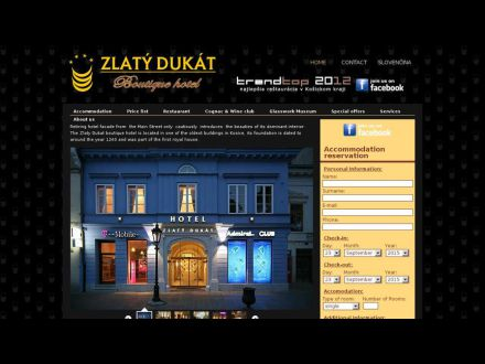 www.hotelzlatydukat.sk
