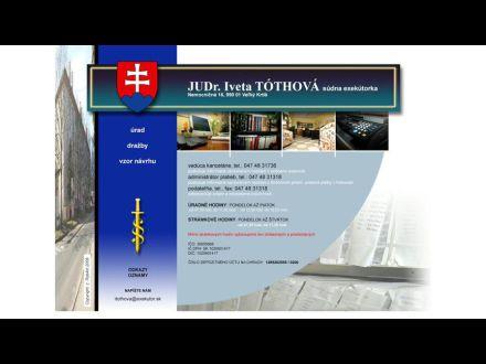 www.exekutoritothova.sk