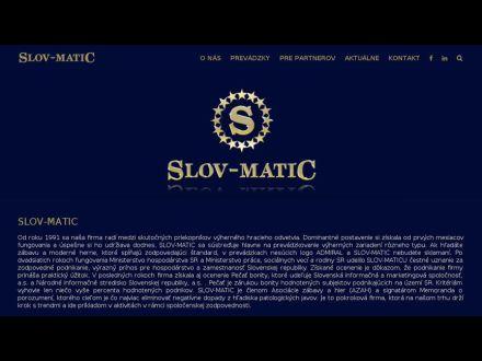 www.slovmatic.sk