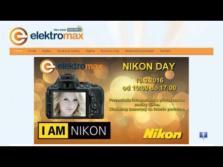 www.elektromax.sk