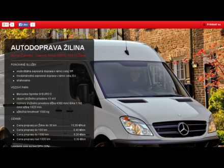 www.autodopravazilina.sk