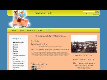zsbudovatelskasnina.edupage.org