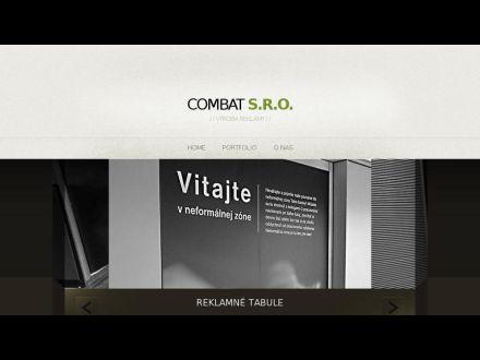 www.combat.sk