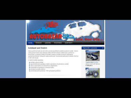 www.autobazarpodhradom.sk