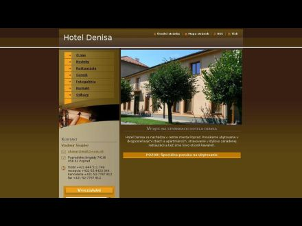 www.hoteldenisa.webnode.sk