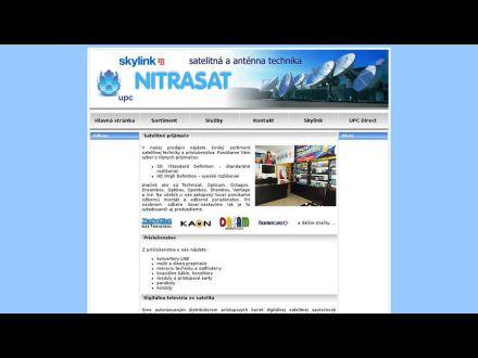 www.nitrasat.sk