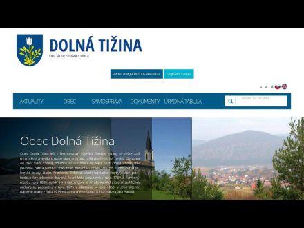 www.dolnatizina.ocu.sk