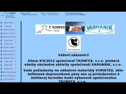 www.tkonfex.sk