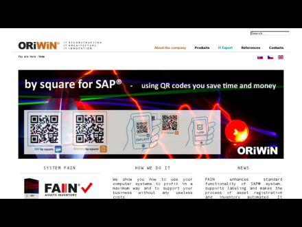 www.oriwin.sk