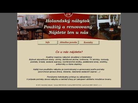 www.holandsky-nabytok.sk