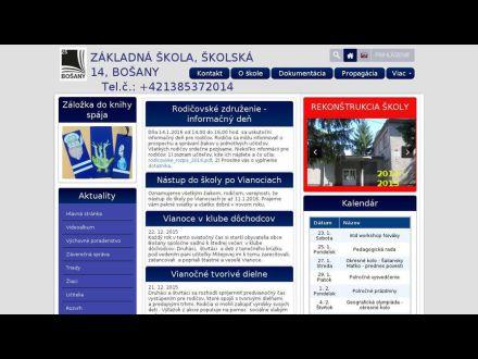 www.zsbosany.edupage.org