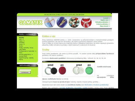 www.galanteriagamatex.sk