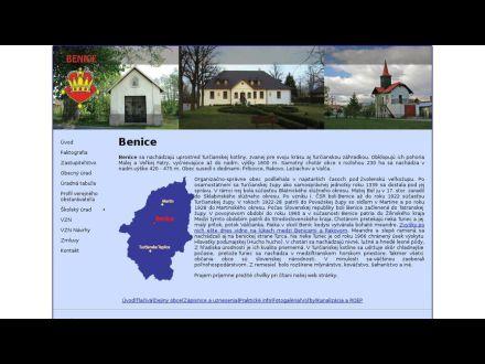 www.benice.sk
