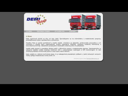 www.demitrans.sk