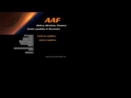www.aaf.hbnet.cz