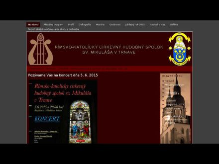 www.cirkevnahudba.sk