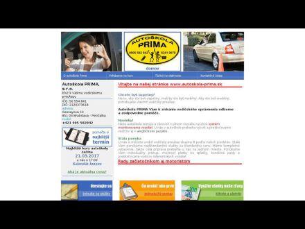 www.autoskola-prima.sk