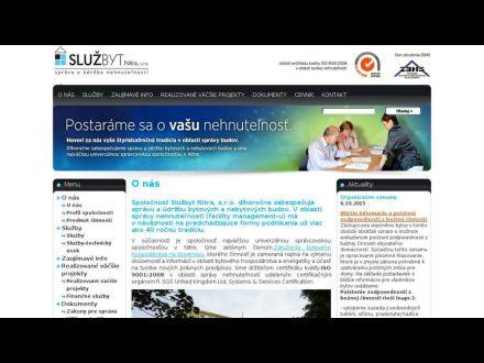 www.sluzbyt-nitra.sk