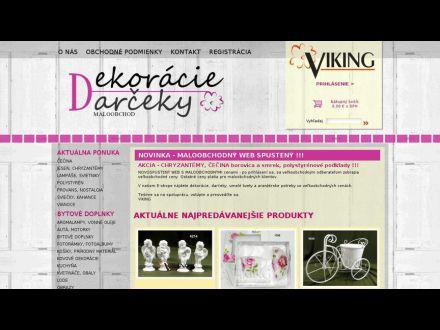 www.dekoracie-darceky.sk
