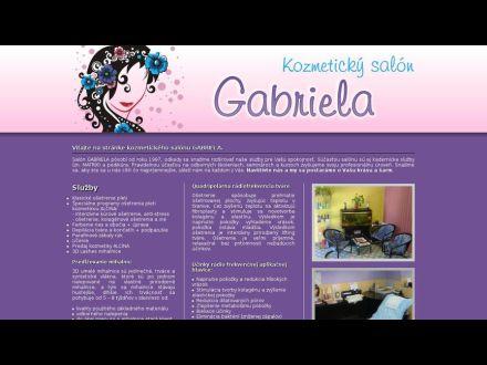 www.kozmetickysalongabriela.sk