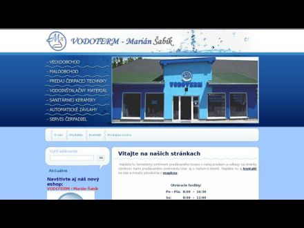 www.vodotermvrable.sk