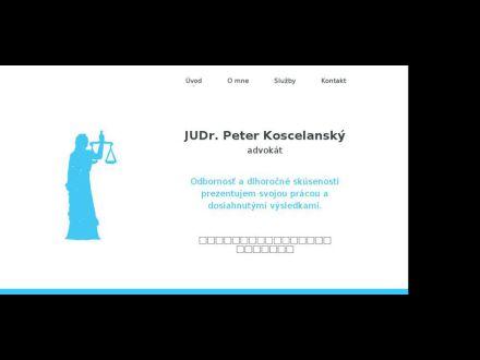 www.koscelansky.sk
