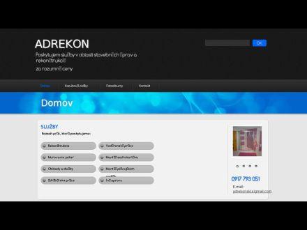 www.adrekon.sk