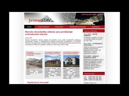 www.promostav.cz