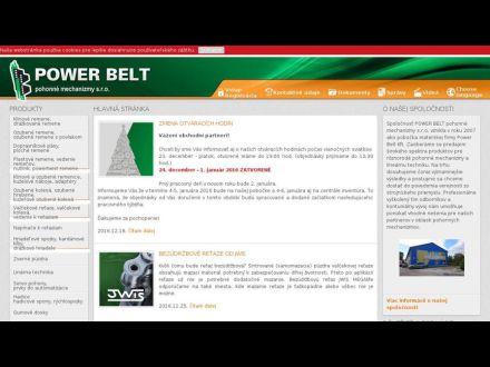www.powerbelt.sk