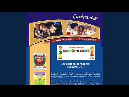 www.europadeti.sk
