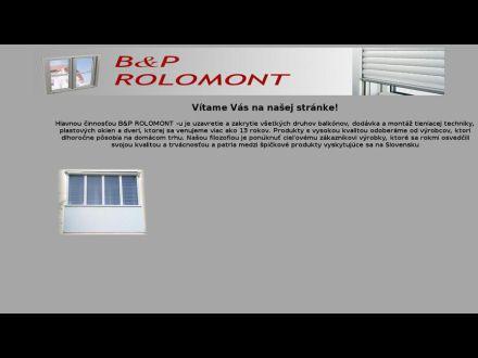 www.rolomont.sk