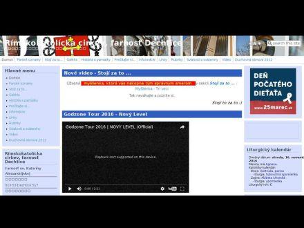 www.fara.sk/dechtice