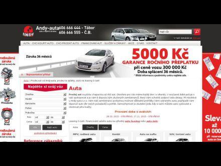 www.andy-auta.cz