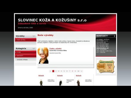 www.slovinec.sk