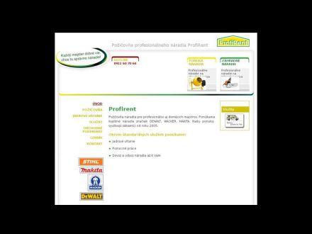 www.profirent.sk