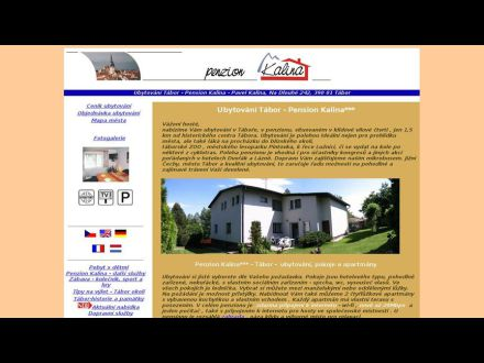 www.penzionkalina.cz