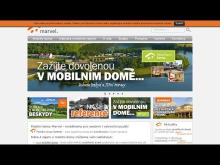 www.marvel-mobilnidomy.cz