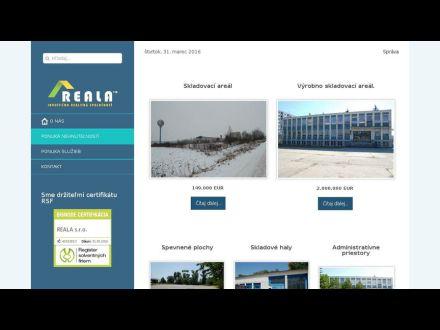 www.reala.sk