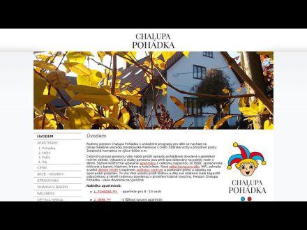 www.chalupapohadka.cz