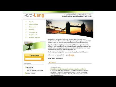www.prolang.eu