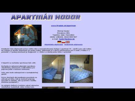 www.lhradok.sk/apartman