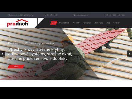 www.prodach.sk