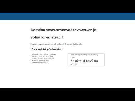 www.szsnevadzova.wu.cz