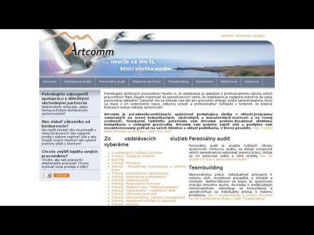 www.artcomm.sk