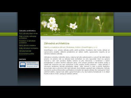 www.greenfingers.sk