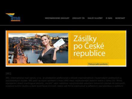www.ims-mailservice.cz