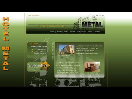 www.hotelmetal.sk