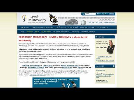www.levne-mikroskopy.cz