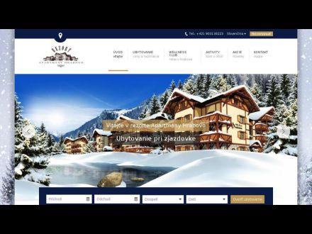 www.apartmanyhrabovo.com