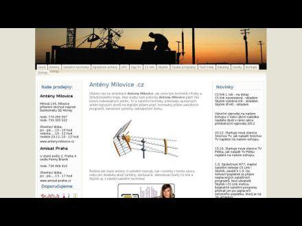 www.anteny-milovice.cz